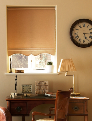roller blinds for a traditional decor