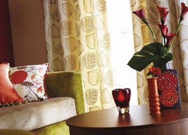home accessorise in bold colours