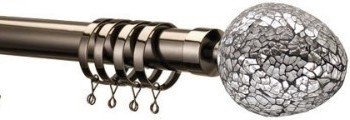 modern metal curtain poles