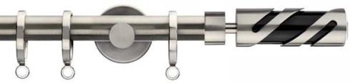modern metal curtain pole