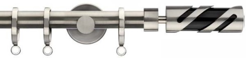 modern metal curtain pole
