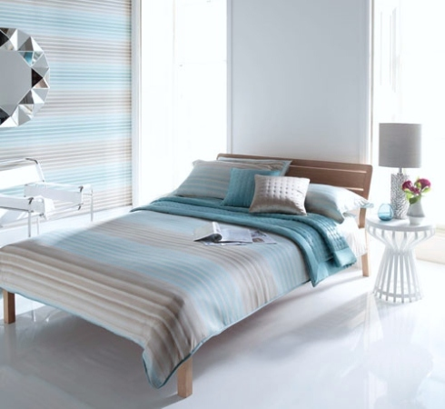 Harlequin wallpaper and bedding