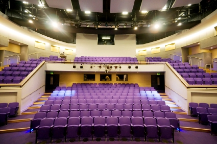 Mallow colouring creates a fabulous venue for clubs and theatres
