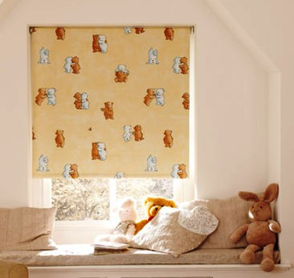 nursery blackout roller blinds