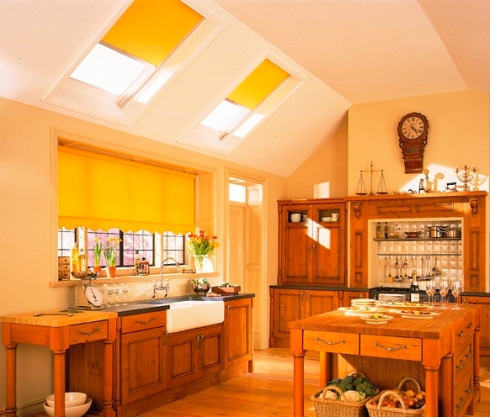 roller blinds for kitchens