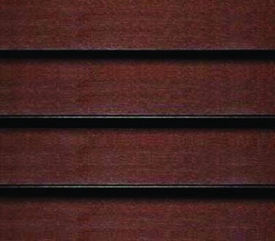 dark wooden blind