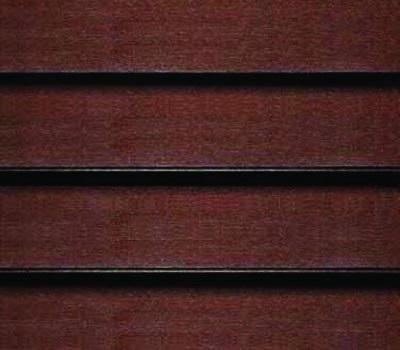 dark wooden blind
