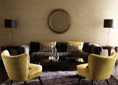 circular mirrors are very typical in an asian decor
