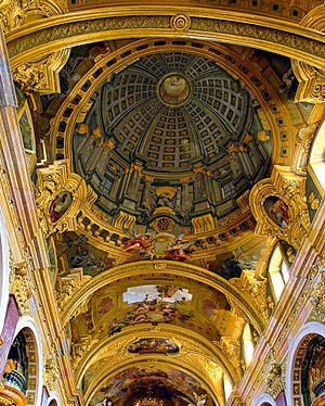 Fake domed ceiling