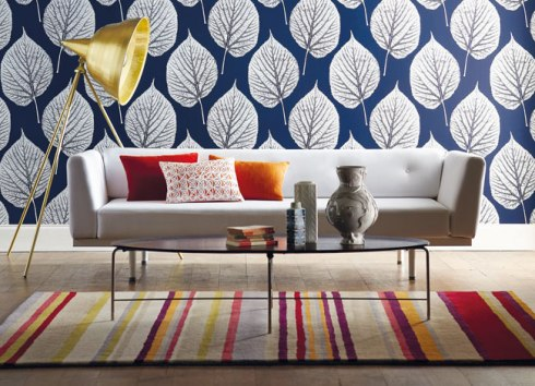 modern patterned wallpaper