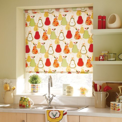 kitchen roller blind