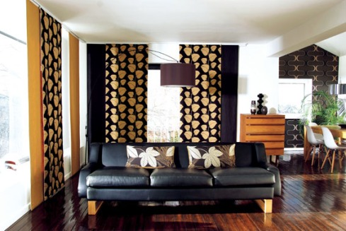 wooden polished floor